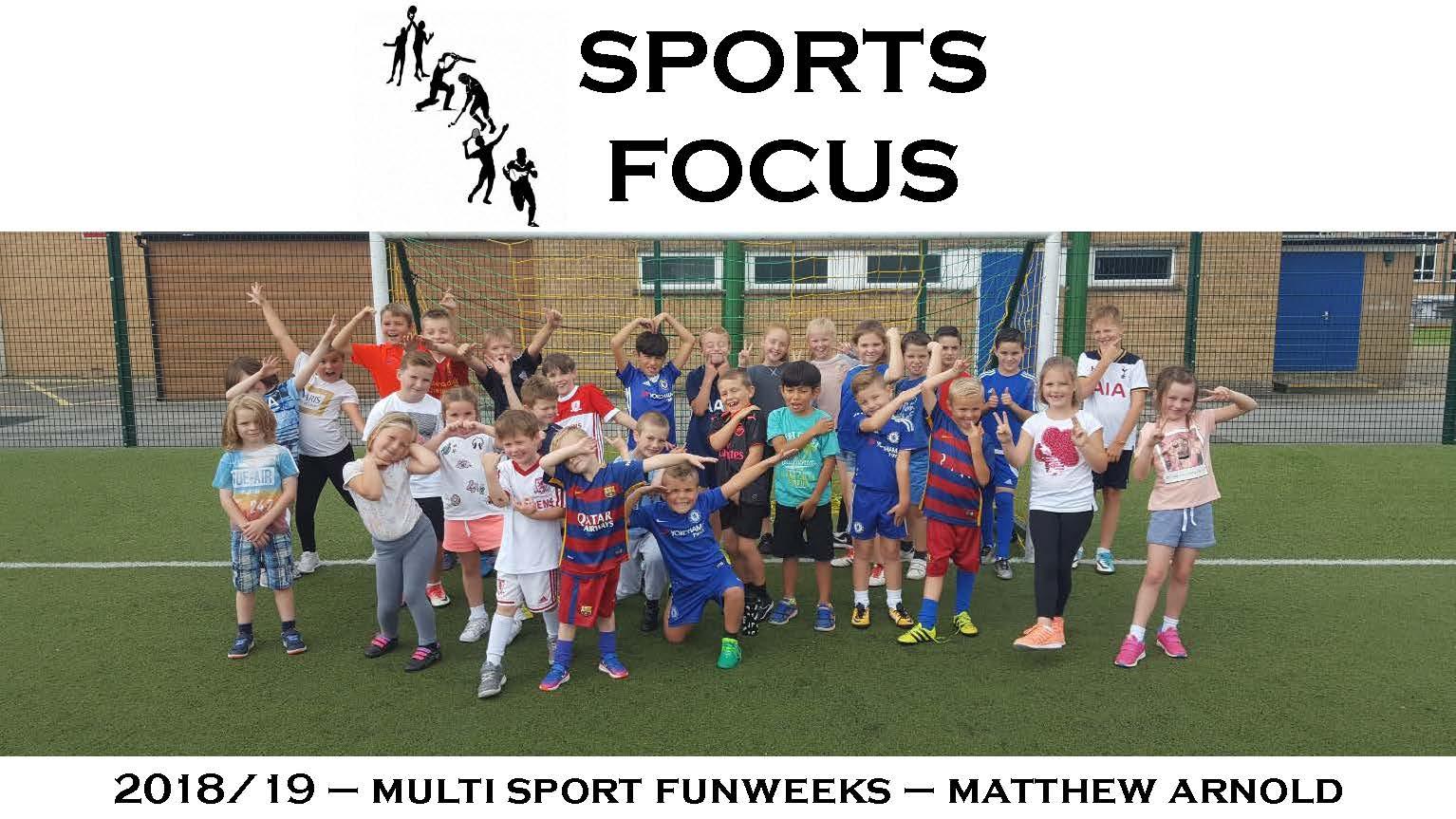 Matthew Arnold – 2019 multi sport funweeks